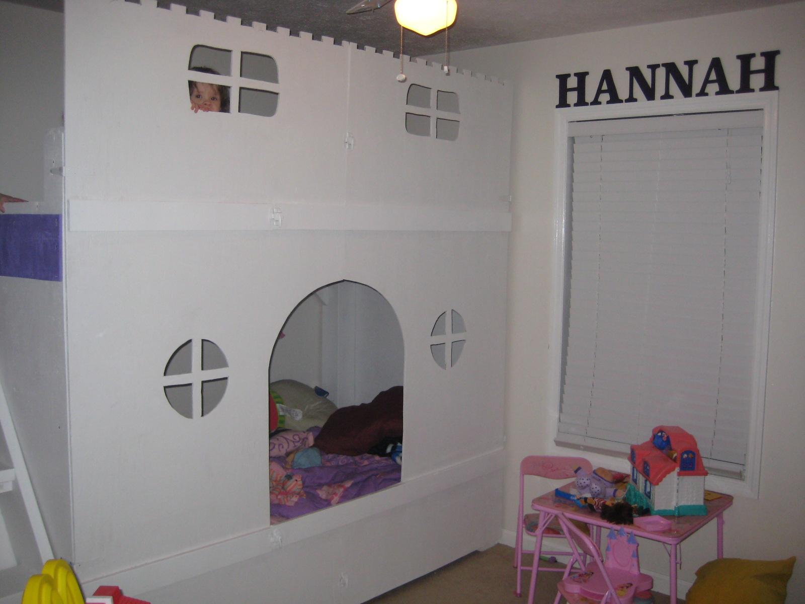 Castle bunk bed for Castle bed plans pdf